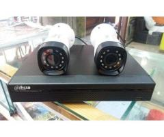 4 CCTV HD Cameras with Installation and Material For sale in good price on Eid