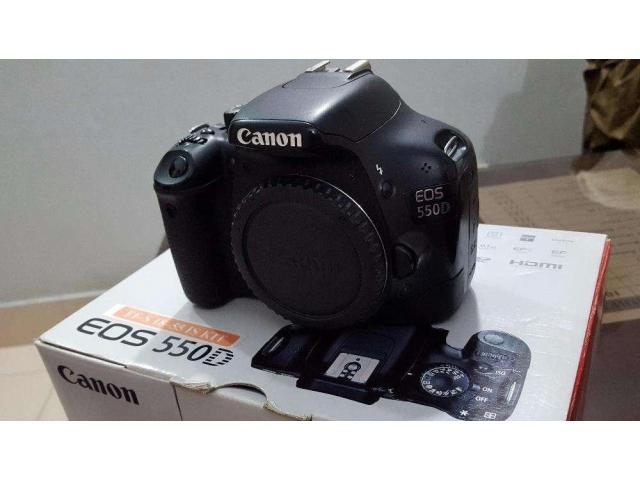550D Canon Tamron 17-50 f/2.8 Flash and more For sale in good price on Eid