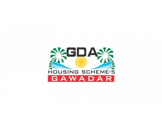 GDA Housing Scheme 5 Gwadar: Residential Commercial Plots on installments