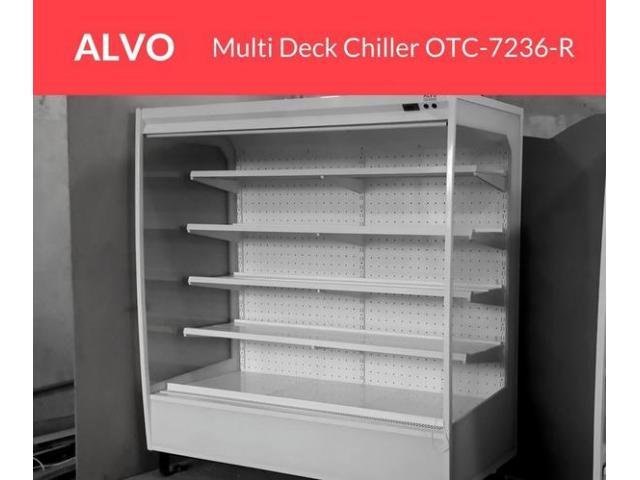 Multi Deck Chiller in Pakistan, Alvo Open Type Chiller Sale in Pakistan