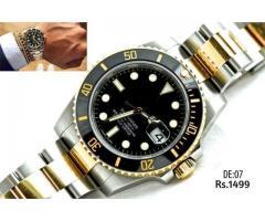 DE:07 Submariner Golden 2 ToneGent's Stainless Steel Watch for sale on EID