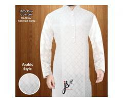 Stitched Kurta Ramadan Offer Pure Cotton
