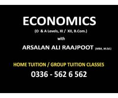 ECONOMICS is easy - Learn with the Best 'ARSALAN RAAJPOOT'