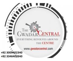 "Best option for Gwadar; ""The Gwadar Central"" Near Jinnah Avenue NOC ""A"" Category"