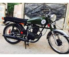 Honda 125 converted to 200cc model 1997 For sale in good price