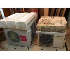 6 AIR CONDITIONERS, 3x 2ton, 2x 1.5ton, 1x 1ton for sale