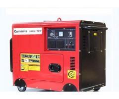 Cummins (UK)Soundprof 3KVA, 6.5KVA, 8KVA, 12KVA Petrol & Gas Generator