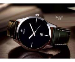 C:1 Black dial black strap For sale in good price on Eid
