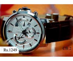 CB:2 Brown Belt white dial strap For sale in good price on Eid