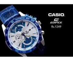 Casio Blue for men's For sale in good price on Eid package