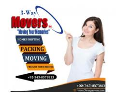 3-Way Movers & Packers Islamabad & Lahore
