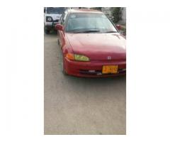 Honda civic dolphin shape for sale in good rates