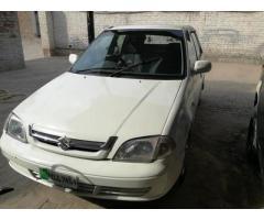 Suzuki cultus vxr white colour for sale in good rates