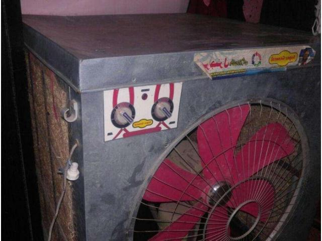 "Air water Room Cooler from Gujranwala, Big Jumbo Size 24"" Fan Lahori"