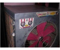 "Air water Room Cooler from Gujranwala, Big Jumbo Size 24"" Fan Lahori"