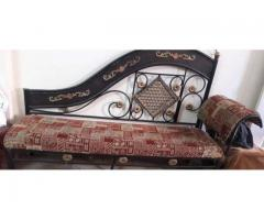 This is a dewaan like sofa for sale in good amount