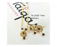 Gold Plated Indian Pendants (IPC-007) for wedding season