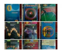 O and A levels Books (at half price) for sale