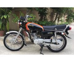 Honda CG 125 Customized for sale amount is good