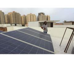 Solar power system on your door step