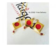 Gold Plated Indian Pendant (IPC-001) for wedding season