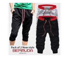 Pack of 2 Bermuda shorts. for summer season