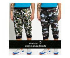 Pack of 2 Commando Shorts FOR summer season