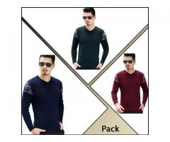 Pack of 3 T-Shirts for summer season