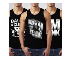 Pack of 3 Tank Tops for summer season only