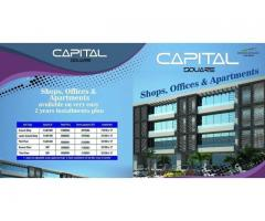 Capital Square Bahria Enclave Islamabad Flats, Office and Shops on installments