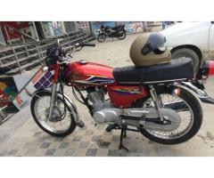 Honda 125 model 17 unregistered in good amount
