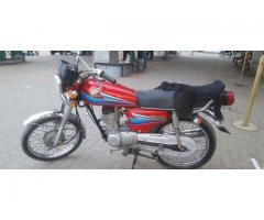 Honda 125 2008 Multan amount is good very soon