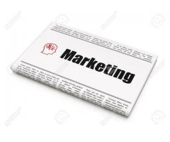 Marketing for newspaper with handsome salary and meal include