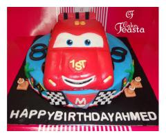 Get Fondant Cakes for Birthday Free Delivery in Lahore