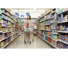 Running supermarket emarat for sale in good amount a running business