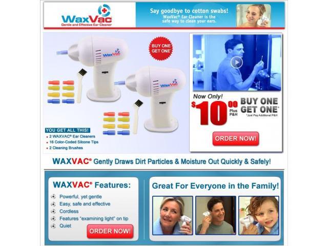 Waxvac Ear Cleaner In Pakistan Karachi Lahore Islamabad BabaTara.Com