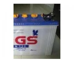 2 Batteries for UPS: AGS Batterie N 120 for sale in good amount