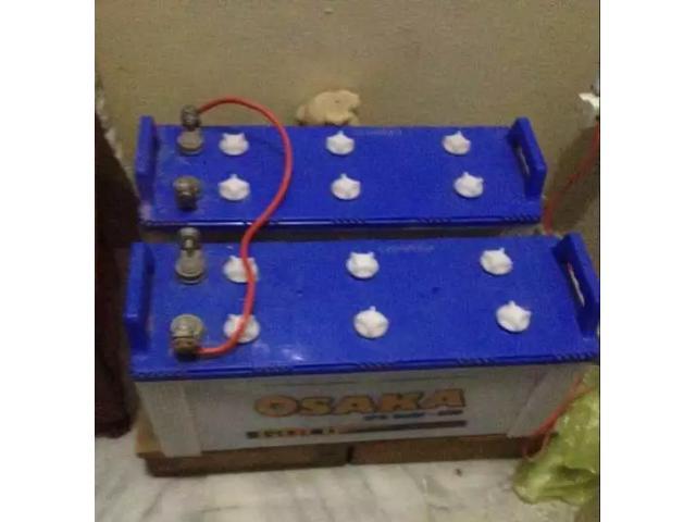 Full 10/10 new batteries of OSAKA full new for sale in good amount