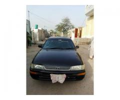 TOYOTA COROLLA 96 MODEL JAPANI 98% Genuine pait for sale in good price
