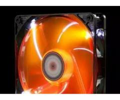 Xigmatek 120mm Orange Led Casing Fan For sale in good Amount