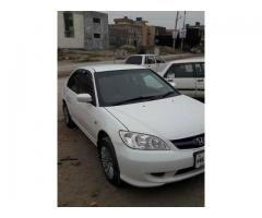 Civic 2005 NCP AVailable in punjab FOR sale in good amount