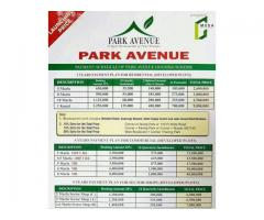 PARK AVENUE Housing Scheme Lahore:  Plots Shops On installments