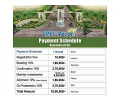 CPEC Resort Rawalpindi: Residential Plot  Farmhouse Land on installments