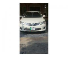 Corolla xli 2011/12 for sale in good amount