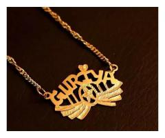 Customize Name Jewellery FOR SALE IN GOOD AMOUNT