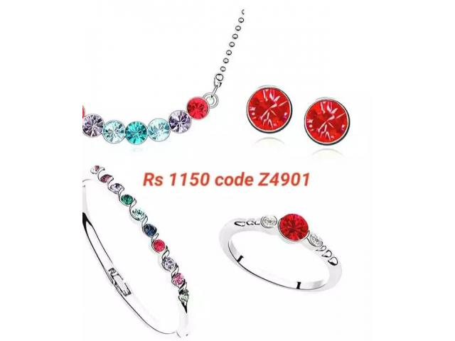 Free shipping European style plated jewellery sets for sale