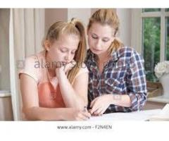 Female home tutor with a handsome salary