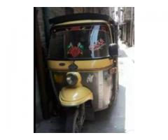 Rozgar Rickshaw FOR SALE IN GOOD AMOUNT