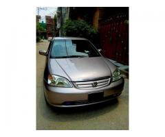 HATTERS STAY AWAY CLEANEST HONDA CIVIC 2002 IS NOW FOR SALE