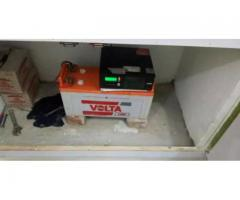 Just battery new volta 210 for sale in good amount